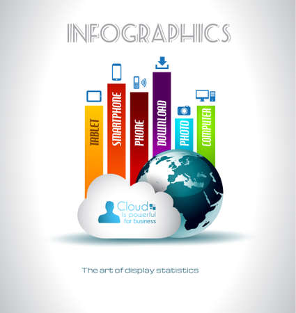tan: Nube de fondo Computing concepto con una gran cantidad de iconos: tableta, smartphone, computadora, escritorio, monitor, m�sica, descargas, etc