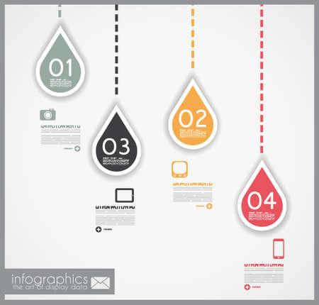 clasificacion: Infograf�a dise�o - forma geom�trica original en papel con sombras. Ideal para la visualizaci�n de datos estad�stica o ranking o clasificaci�n de productos de uso general.