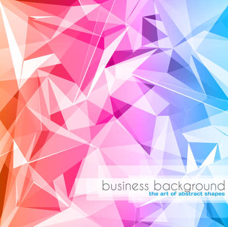 Elegant business card design template - Ideal for corporate card background or modern brochure covers. Stock Vector - 18526399