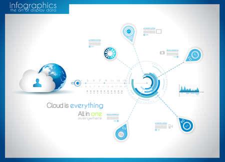 tan: Elementos de Infograf�a - conjunto de etiquetas de papel, iconos de la tecnolog�a, cmputing nube, gr�ficas, etiquetas de papel, flechas, mapa del mundo, etc. Ideal para la visualizaci�n de datos estad�stica.