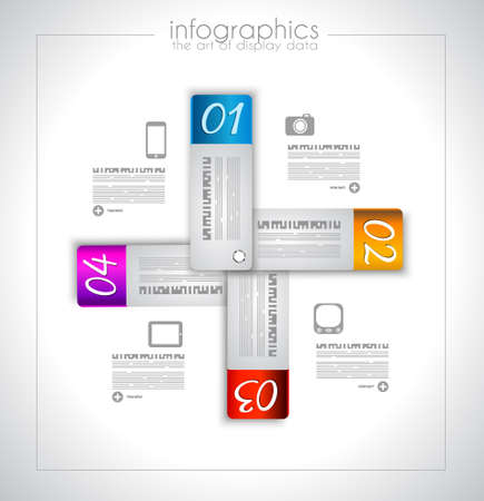 infocharts: Infographic design for product ranking - display your data with classs: original paper geometric shape with shadows. Ideal for statistics and infocharts.