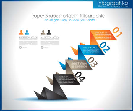 infochart: Infographic template for statistic data visualization. Modern composition to use like infochart, product ranking page or background for performance data graphics.