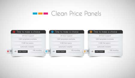 web header: Web panel precio de tienda con espacio para el texto y bot�n Comprar ahora. Limpie el dise�o y colores uniformes, con sombras delicadas. Ideal para el comercio electr�nico de compras.