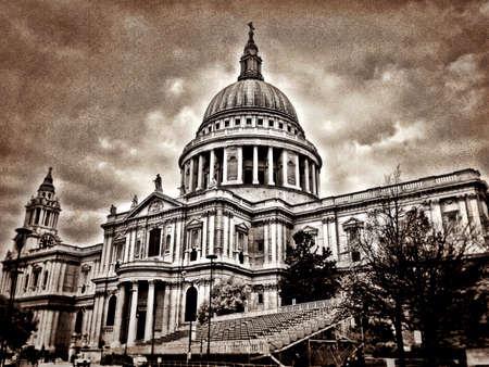 patric: Sant patricks church in London Stock Photo