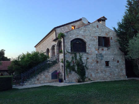 agriturismo: Old house made with stones