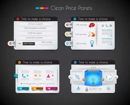 web header: Web panel precio de tienda con espacio para el texto y bot?omprar ahora. Limpie el dise? colores uniformes, con sombras delicadas. Ideal para el comercio electr?o de compras.