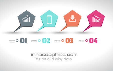 Infographics concept background to display your data in a stylish way. Clean detailaed design for stats, ranking and classifications. Stock Vector - 21316594