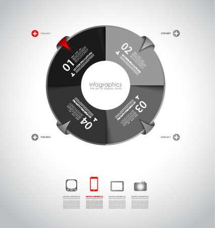 インフォ グラフィックの概念の背景