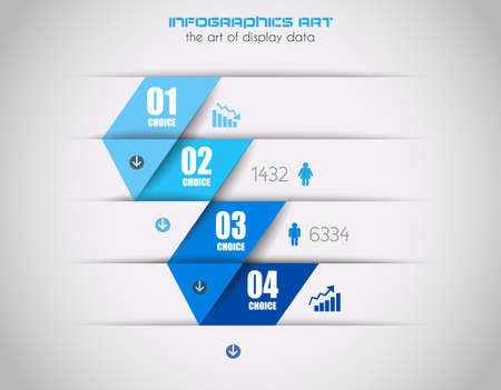 Infographics concept Stock Vector - 22418071