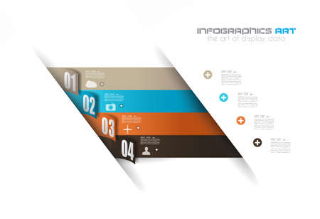 communicating: Infographics concept background to display your data in a stylish way. Clean detailaed design for stats, ranking and classifications.
