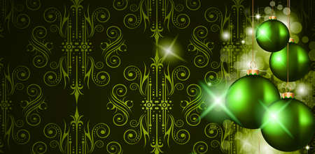 Elegant Merry Christmas background for your covers or cards.  Vector