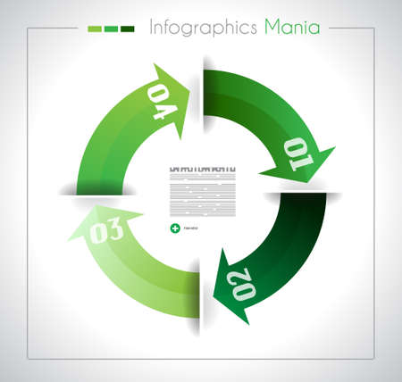 webtemplate: Infographic design template with paper tags. Idea to display information, ranking and statistics with orginal and modern style.