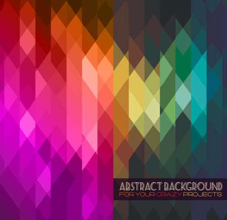 Disco club flyer sjabloon. Abstracte achtergrond te gebruiken voor muziek evenement affiches of album covers. Vector Illustratie