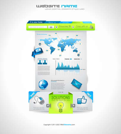 web sites: Quality clean web elements for blog and sites. Icons, header, carousel, infographics and a lot of icons.