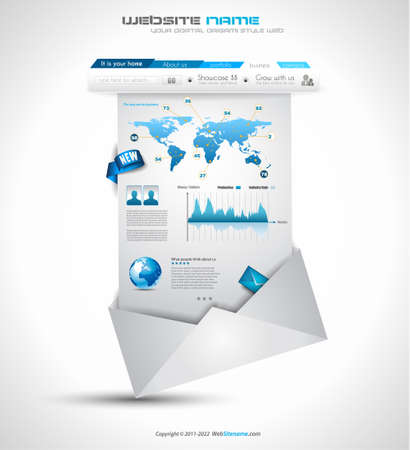 webtemplate: Quality clean web elements for blog and sites. Icons, header, carousel, infographics and a lot of icons.