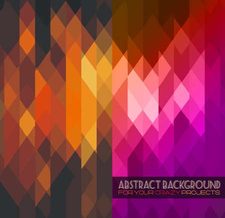 Sophisticated abstract grunge background for your hipster cover projects. Vector