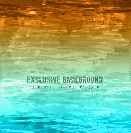 Grunge Abstract background sratched and worn. Ideal for your Vintage design covers or posters. Illustration