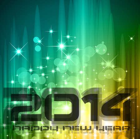 2014 New Year Stock Vector - 24345078