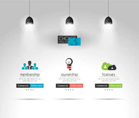 componentes: Modernos interfaz UI elementos de diseño Flat Style para todos sus proyectos.