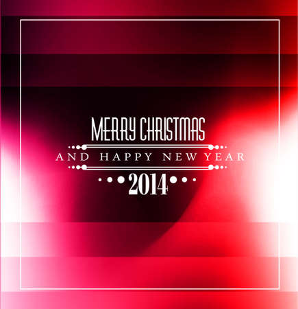 2014 Christmas Colorful with stunning game lights. Vector