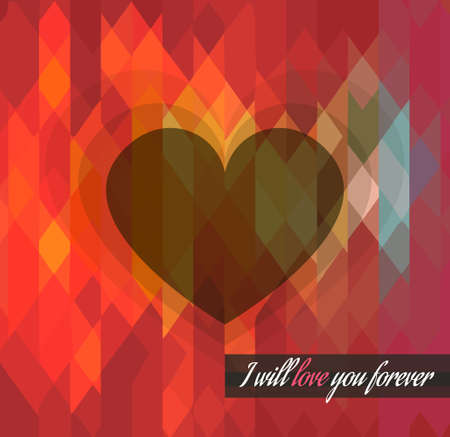 Modern stylish Valentines Day template for your flyer backgrounds. Vector