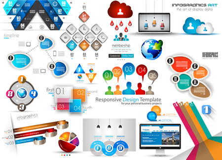 page rank: Fresh new Collection of Infographics Template and elements. A lot of pieces for all your needs.