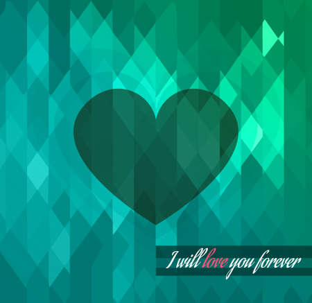 Modern stylish Valentine's Day template for your flyer backgrounds. Stock Vector - 26008910