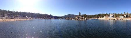lake beach: The magic of Big Bear lake CA