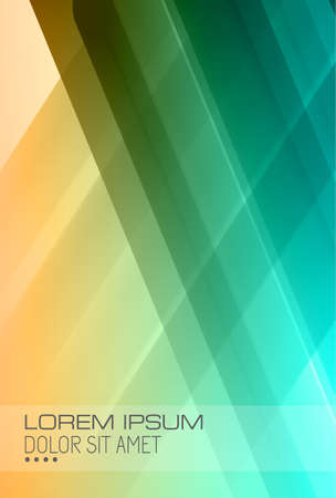Abstract high tech background for covers or business cards. Vector