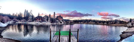 bear lake: Big Bear Lake CA Stock Photo