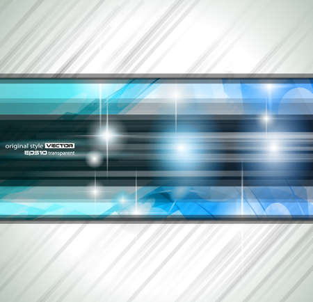 high tech design: Abstract background for business card or brochures cover or high tech flyers. Illustration