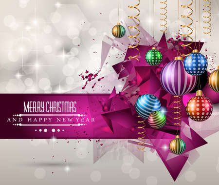 wallpaper abstract: Christmas original modern background template for invitations, seasonal cards, event posters, new year backgronds and so on.
