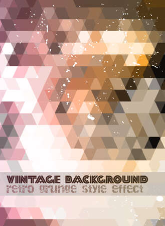 music event: Vintage RetroDesign flyer template. Abstract background to use for music event posters ,album covers or hipster backgrounds. Illustration