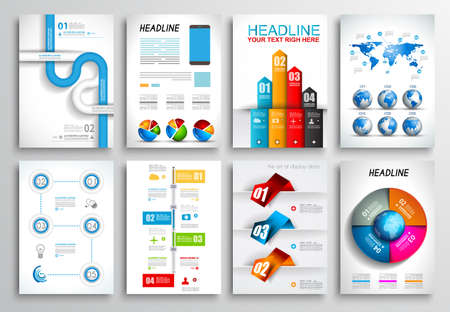 design web: Set of Flyer Design, Web Templates. Brochure Designs, Technology Backgrounds. Mobile Technologies, Infographic  ans statistic Concepts and Applications covers. Illustration