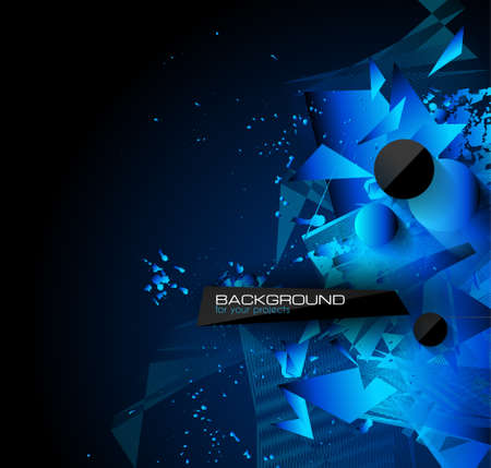 business backgound: Abstract modern poligonal background for brochure and covers, made with geometrical shapes to use for posters, book cover, flyer and advertisement material