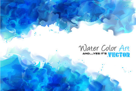 Watercolor Background and yes... its vector! To use for poster, flyer background, page covers, letterheads, hipster stuff, business cards, brochures template and so on