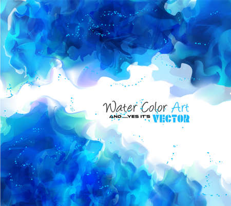 painted the cover illustration: Watercolor Background and yes... its vector! To use for poster, flyer background, page covers, letterheads, hipster stuff, business cards, brochures template and so on