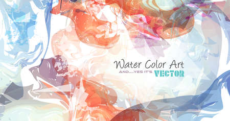 backdrop design: Watercolor Background and yes... its vector! To use for poster, flyer background, page covers, letterheads, hipster stuff, business cards, brochures template and so on