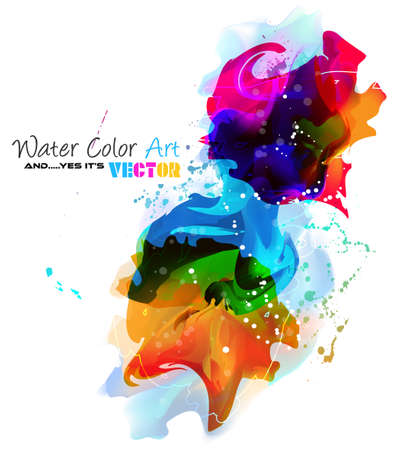 so: Watercolor Background and yes... its vector! To use for poster, flyer background, page covers, letterheads, hipster stuff, business cards, brochures template and so on