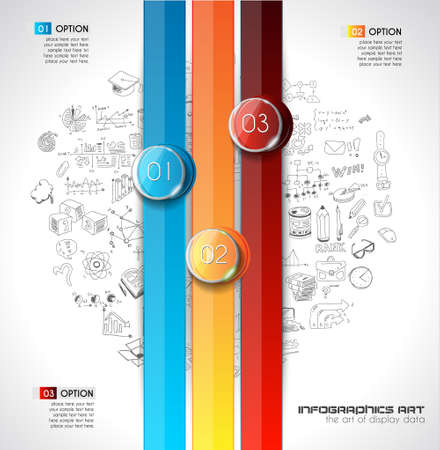 classification: Modern Abstract Infographic template to display data, product ranking, services classification, statistics display,results and so on.