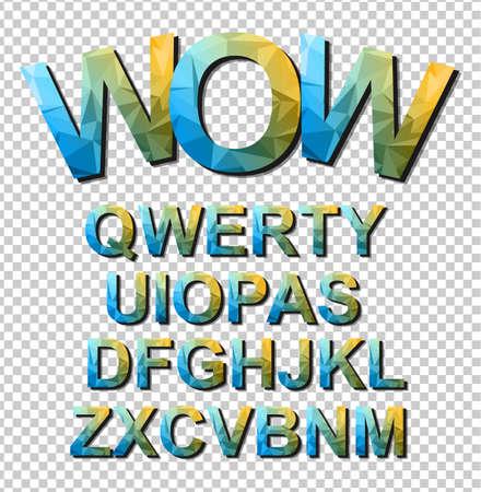 lettres alphabet: Colorful police Simple drôle pour projet de bande dessinée, affiche de l'événement Enfant, Parties invitations, événements ou publicitaires petites affiches. Lettres isolées avec effet d'ombre. Prêt à copier et coller sur toutes les surfaces.