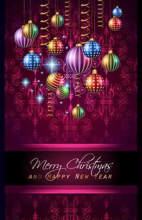 new years eve: 2016 Merry Chrstmas and Happy New Year Background for your dinner invitations, festive posters, restaurant menu cover, book cover,promotional depliant, Elegant greetings cards and so on.