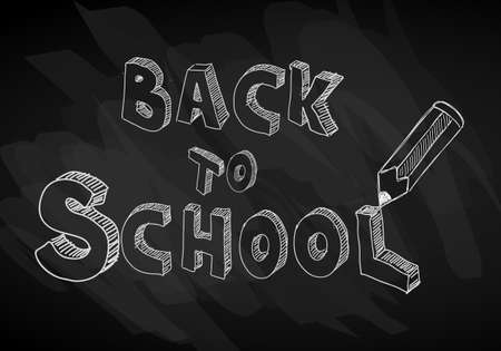scratchboard: Back to School Background to use for advertiments, as book cover or related material presentation. Pencil, computers, scratchboard, rubbers and a lot of elements are included.