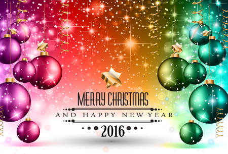 new designs: 2016 Christmas and Happy New Year Party flyer.
