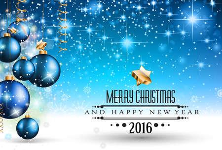 cena navide�a: 2016 Navidad y Feliz A�o Nuevo Partido volante. Dise�o completo con espacio para el texto para sus invitaci�n de la cena, fiestas de Navidad o aviador del partido la v�spera de a�o nuevo.