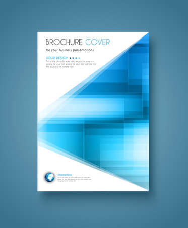 Brochure sjabloon, Flyer ontwerp en Depliant Cover voor zakelijke presentatie en tijdschriftomslagen.