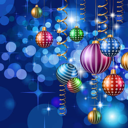 christmas party: 2016 Happy New Year and Merry Christmas Background for your seasonal wallpapers, greetings card, dinner invitations, pary flyers, covers and so on. Illustration