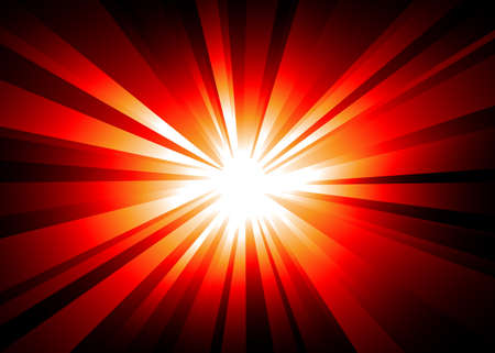 ray of light: LIght Explosion Background wth Orange and Red ray lights.