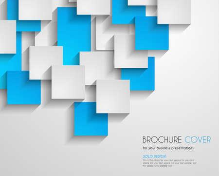entwurf: Broschüre Vorlage für Business-Flieger-Cover, Karten. Gedrucktes Material, Präsentationshintergründe, depliant Design Illustration