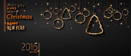 fiesta: 2016 Feliz A�o Nuevo y Feliz Navidad de fondo para sus fondos de pantalla de temporada, tarjeta de saludos, invitaciones de la cena, los aviadores pary, cubiertas y as� sucesivamente.